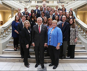 GRHA members with Governor Deal at the Capitol